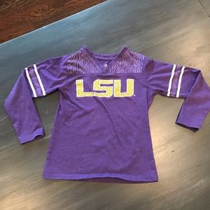 LSU t-shirt size small